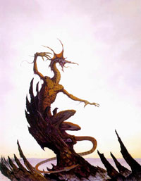 The Dragon of Athas, by Brom.