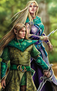 The Eladrin are a new player race, first introduced in 4th Edition.