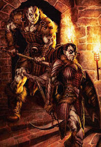 A pair of goliaths, the new face of the half-giant for DS4e.